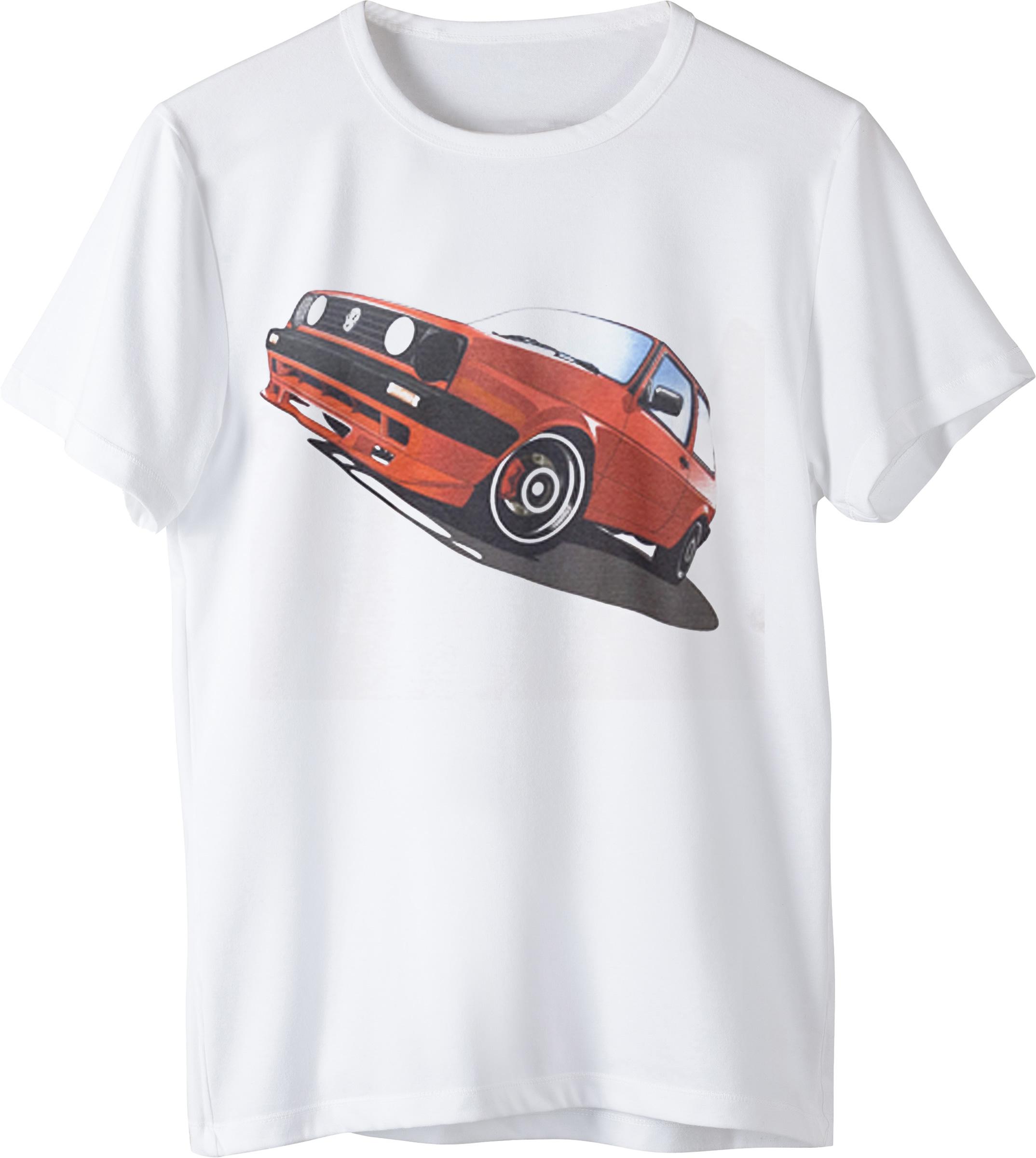 Tricou VW Golf 1 Alb