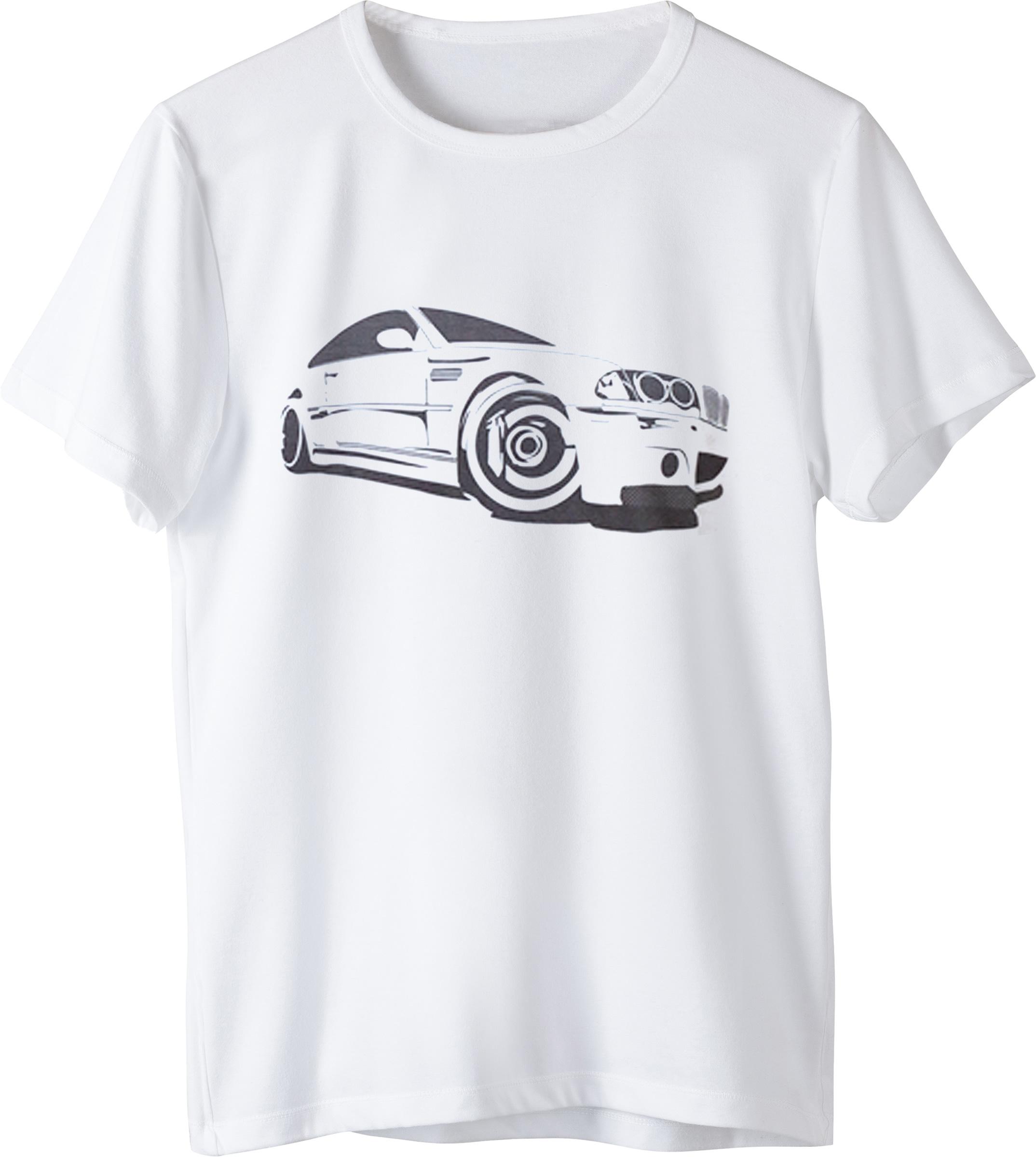 Tricou BMW E46 Alb