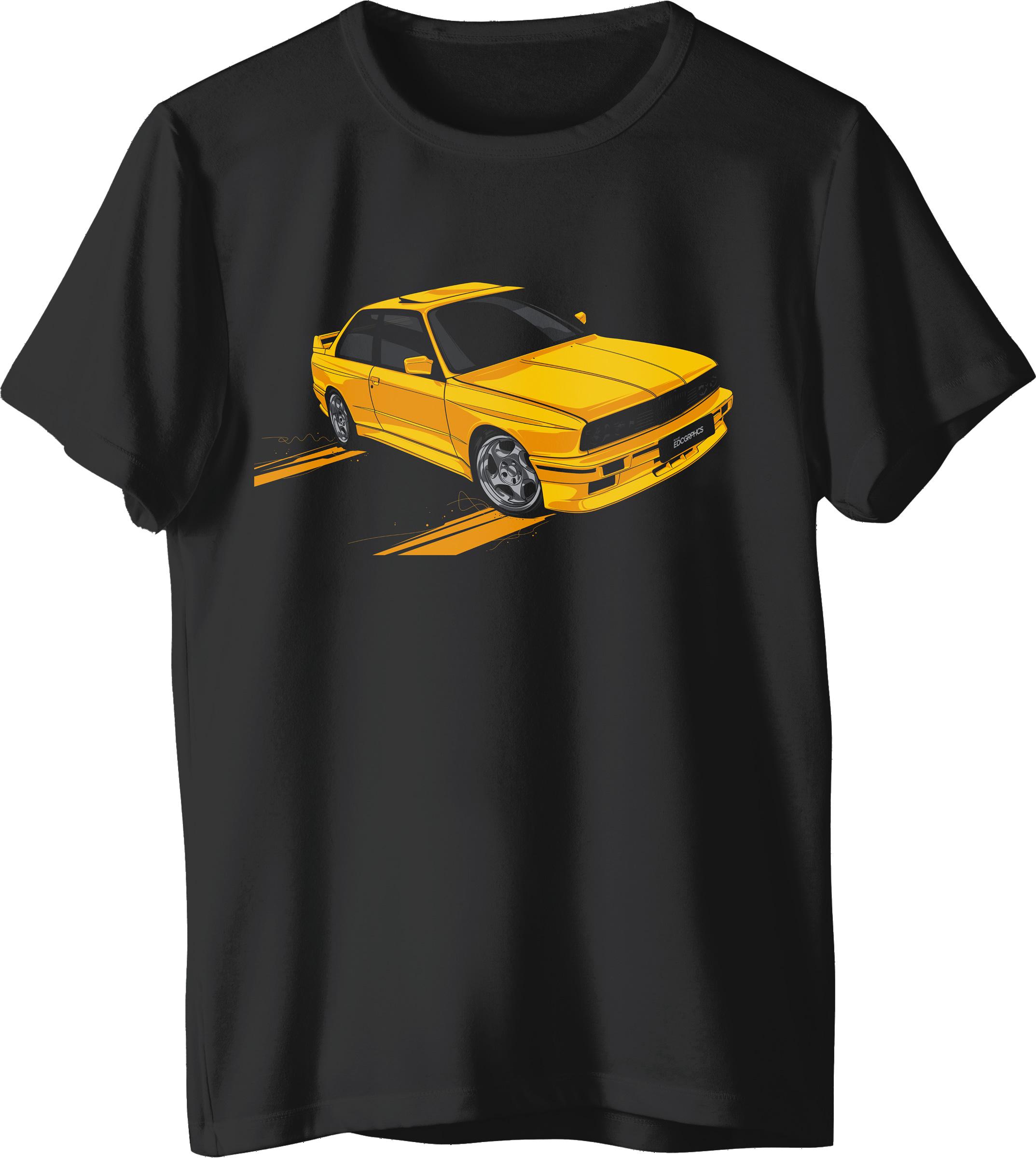 Tricou BMW E30 Negru