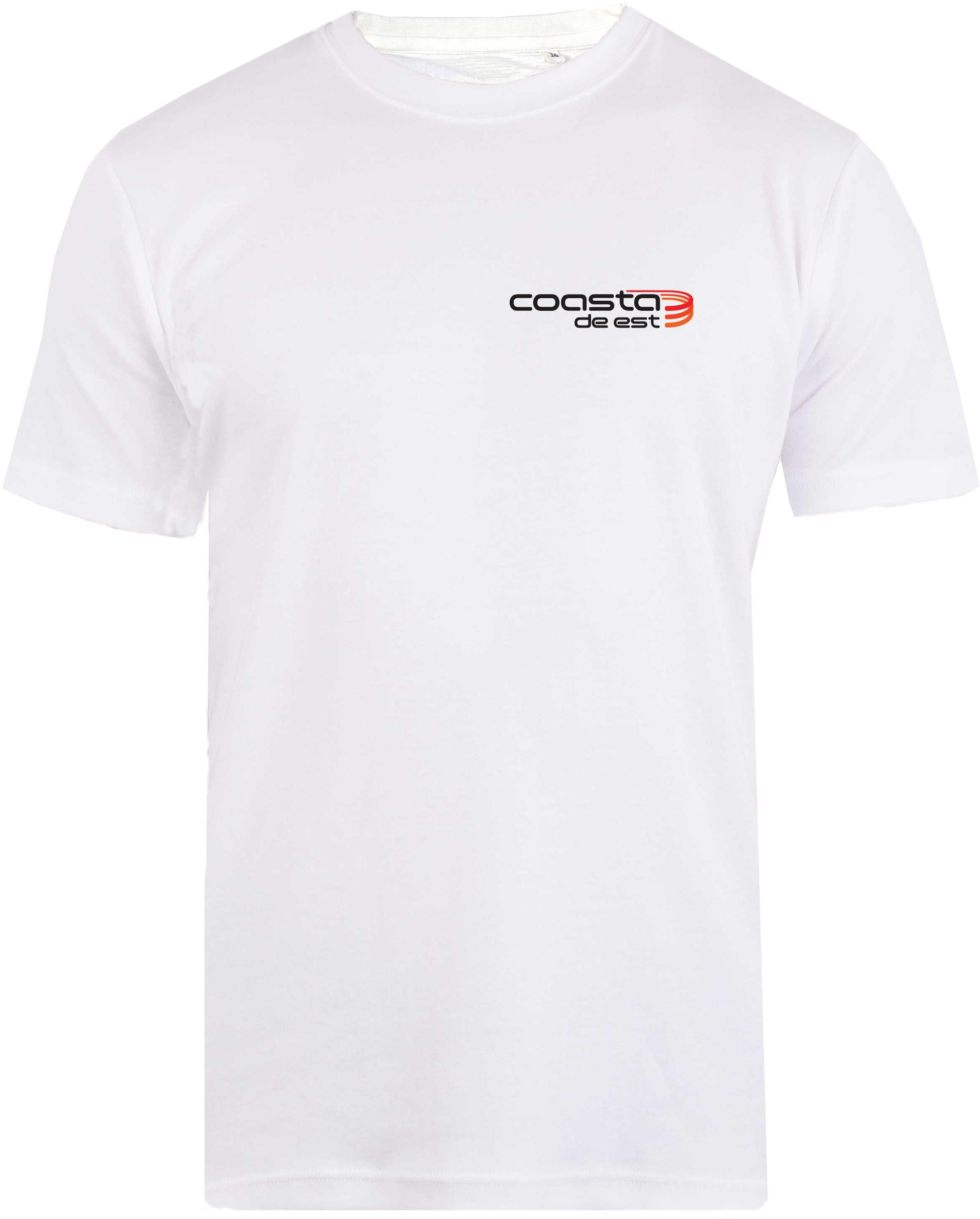 Tricou CDE Logo Alb